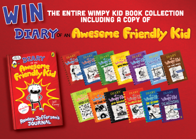 Diary of an Awesome Friendly Kid | Competition