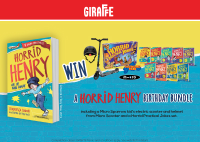 Horrid Henry | Competition